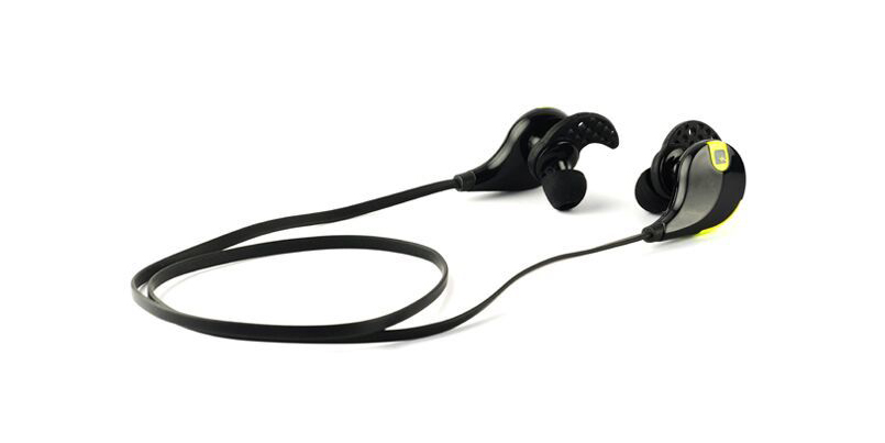 The MMOVE stereo Bluetooth earbuds are lightweight, wireless, durable, and sweat proof (free international ...