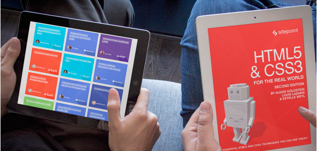 Improve your design and development skills with 89% off SitePoint Premium