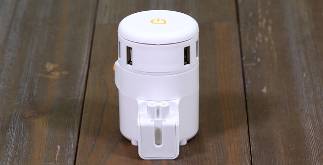 Twist Plus+ travel adaptor works in 150+ countries, with USB and MacBook charging: 33% Off
