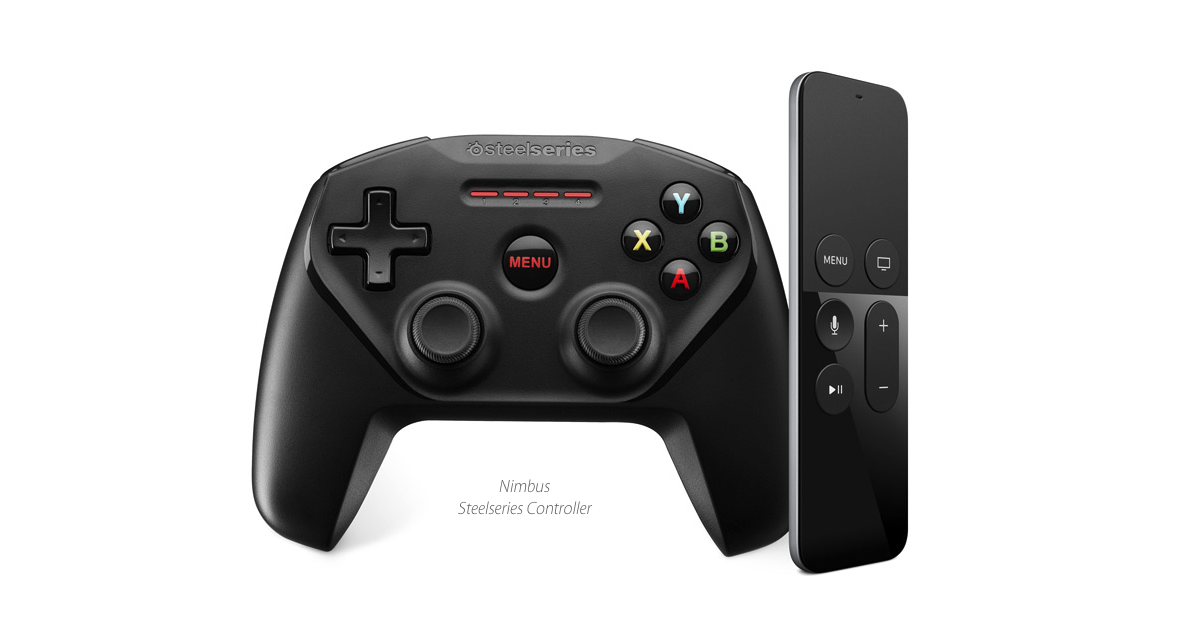 You can use different controllers for Apple TV gaming, but not many