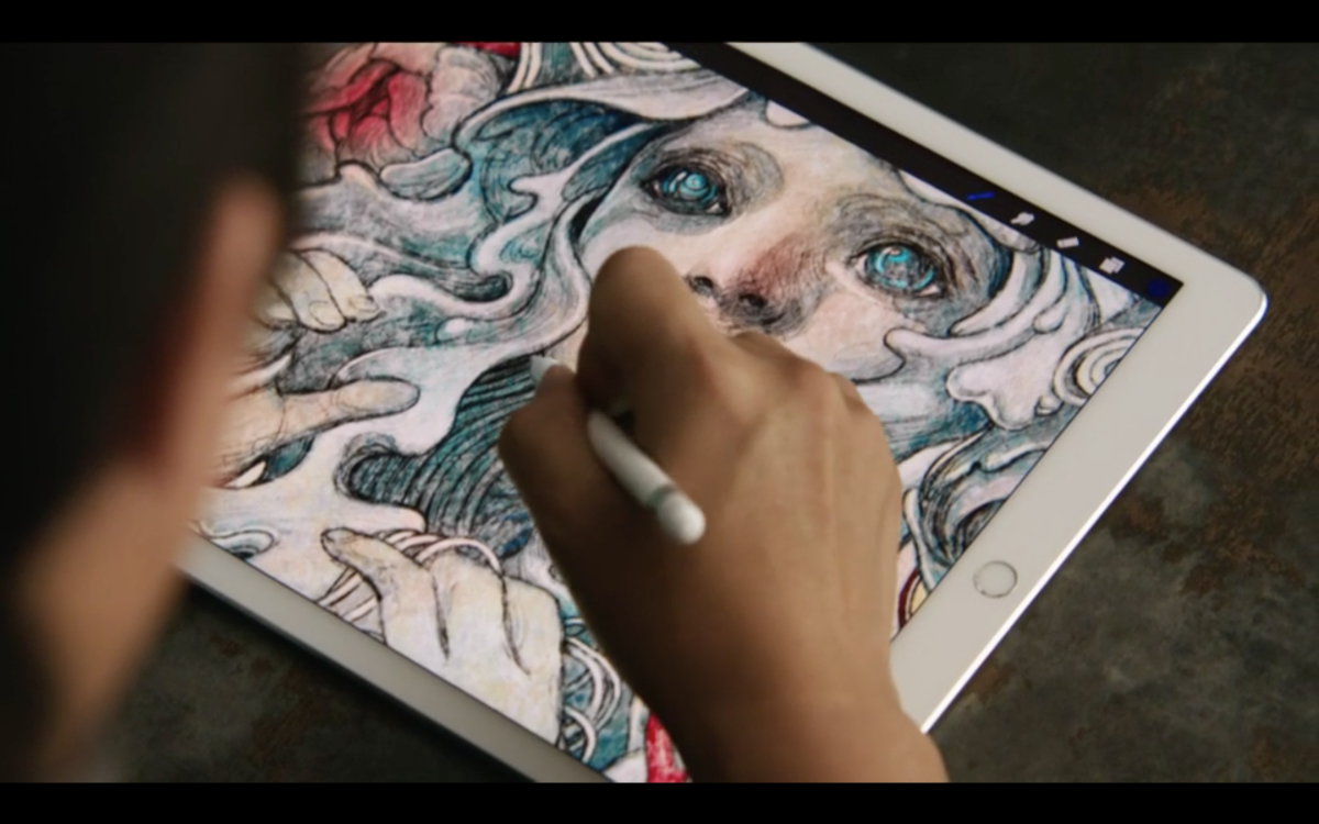Apple launches iPad Pro with 12.9″ display and a stylus