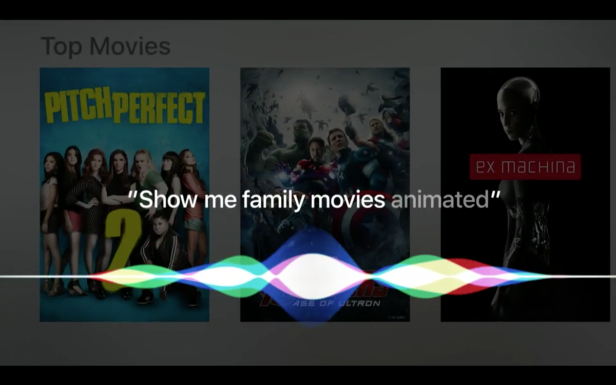The new Apple TV features Siri, third-party apps and new touch-screen remote