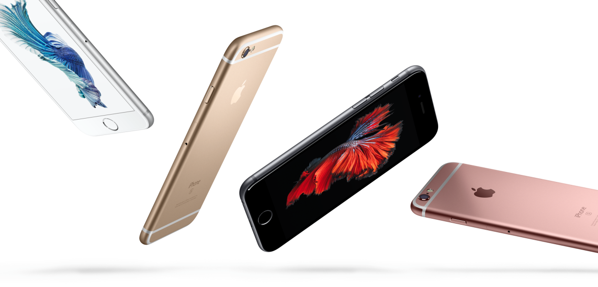 b7ec9538a6e61c Apple introduces the iPhone 6s and 6s Plus in rose gold, with 3D Touch and  animated wallpaper