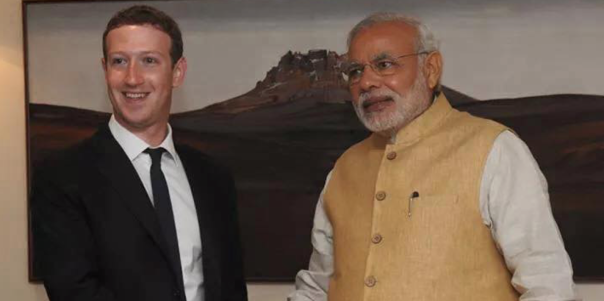 Facebook invites Indian Prime Minister Narendra Modi to next Townhall Q&A