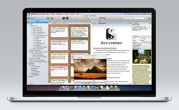 Scrivener: the pros' choice of writing app – now with 56% off