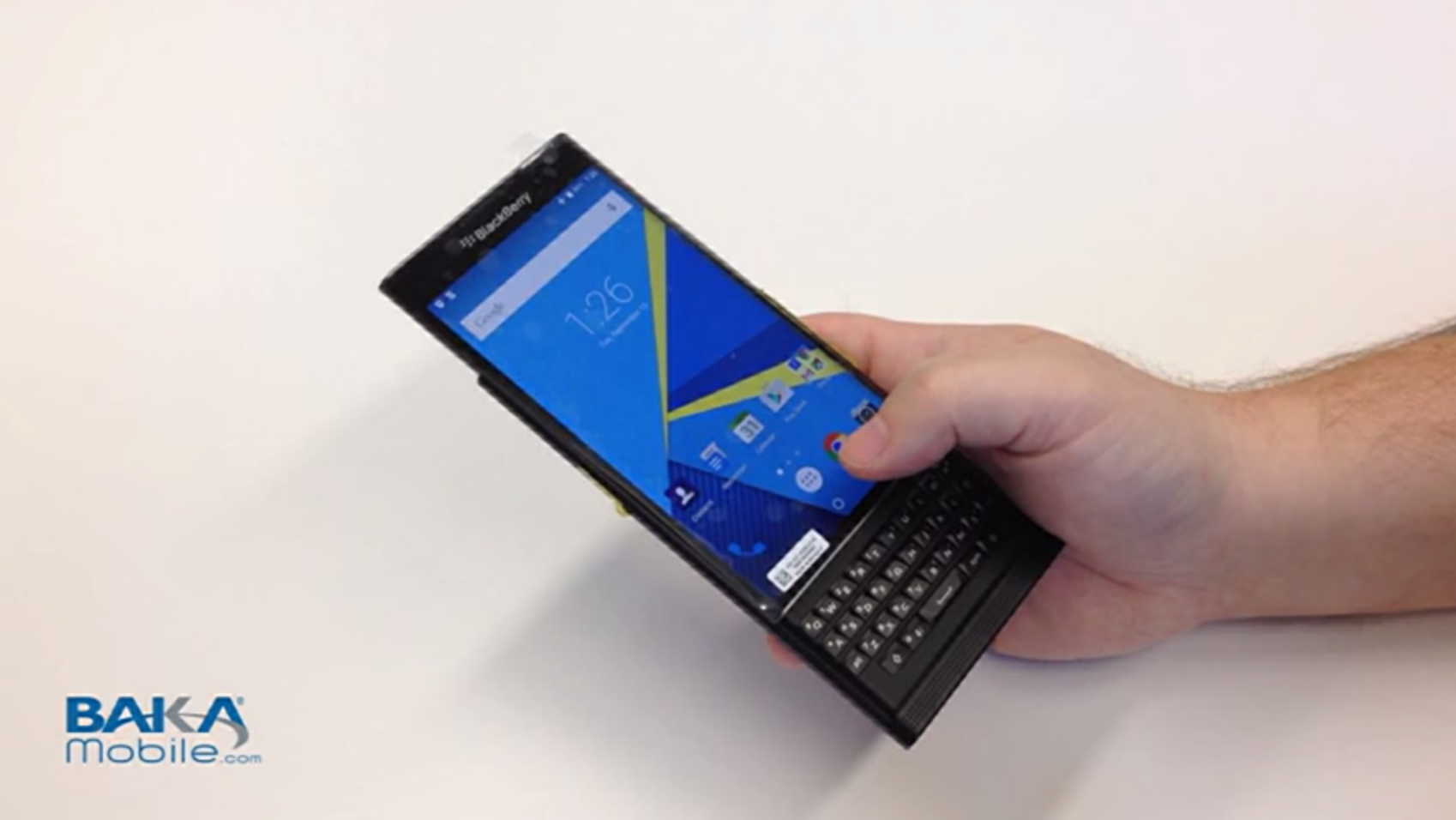 BlackBerry's Android phone is shaping up nicely in first leaked hands-on video