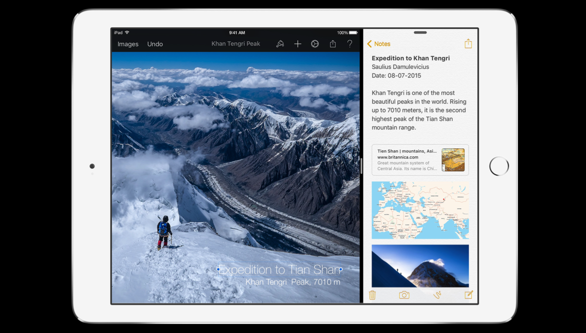 Pixelmator adds iOS 9 support for Split Screen and Spotlight