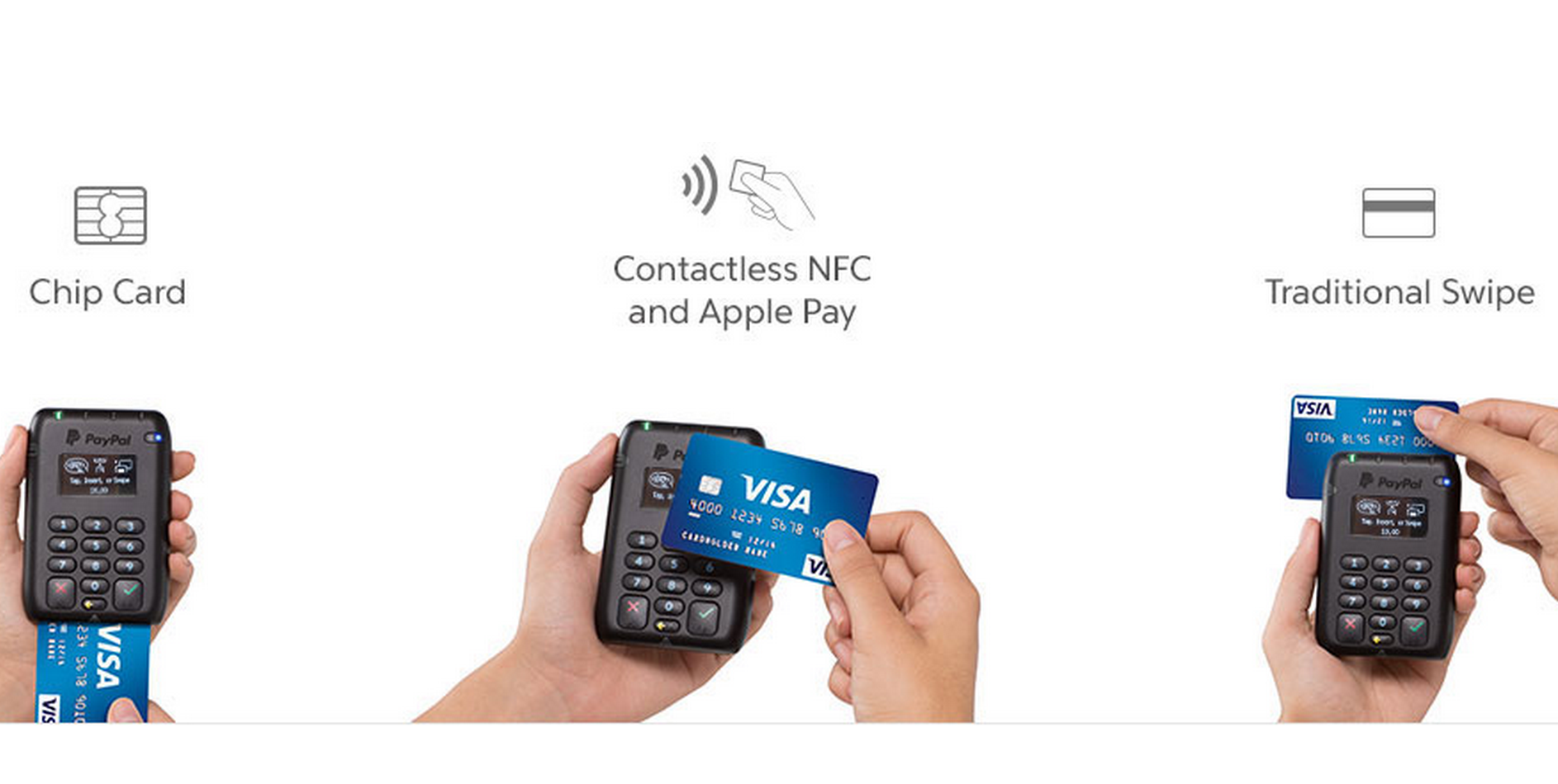 cfa8a4867f7d7 PayPal's new chip card reader accepts Apple and Android Pay