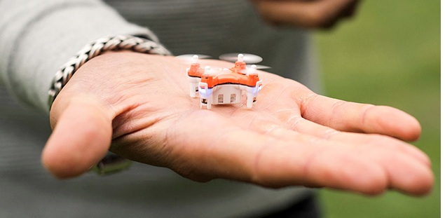 Master the skies with the world's smallest drone for $34.99