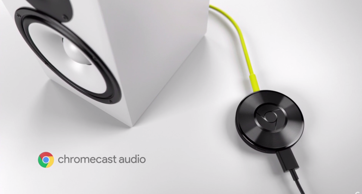 Google launches Chromecast Audio, a $35 dongle that turns your speakers into a streaming device