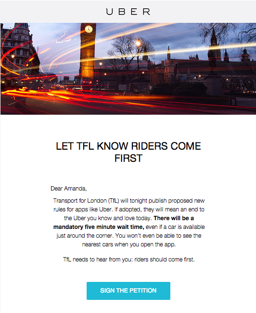 Uber Is Fighting Back After London Authorities Propose New