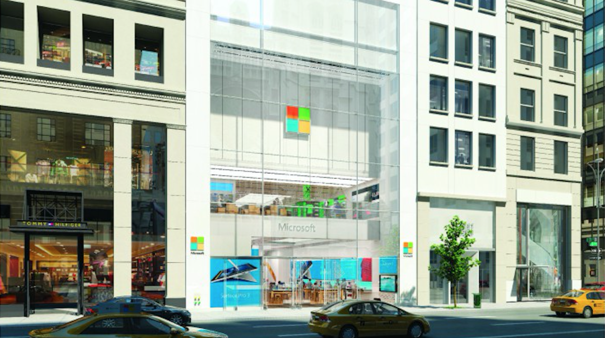 Microsoft will open its flagship NYC store with a big party on October 26