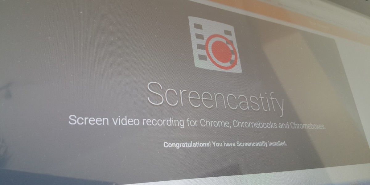 This Chrome extension makes it easy to record your desktop, tabs or webcam for YouTube