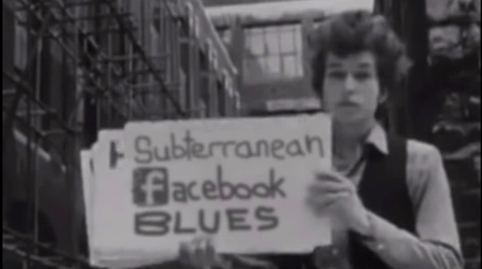 Subterranean Facebook Blues: Watch Bob Dylan perfectly redone with profile puns