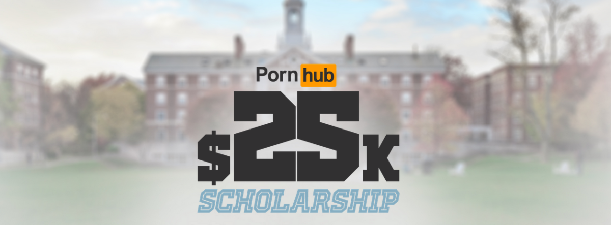 Pornhub just launched a university scholarship and you don't have to get naked to qualify