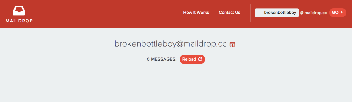 Use this disposable email service and feel like a spy!