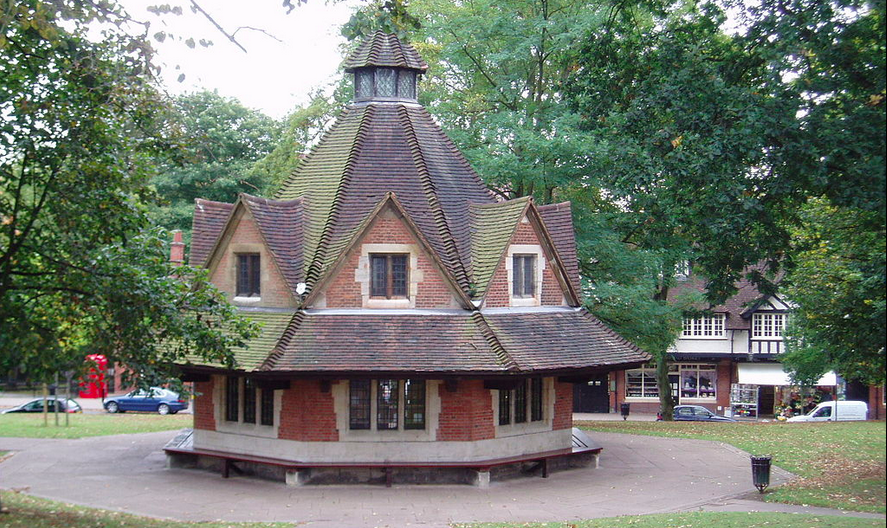 The Rest House in Bournville by Steve Cadman