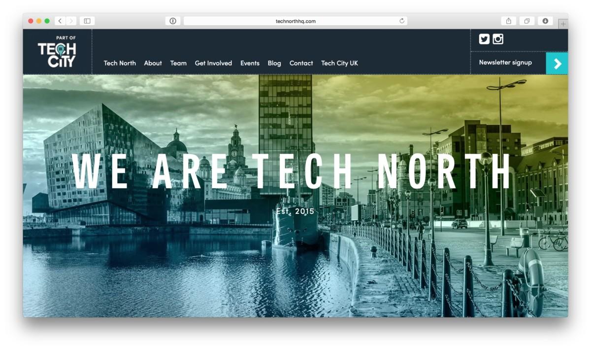 Tech North website