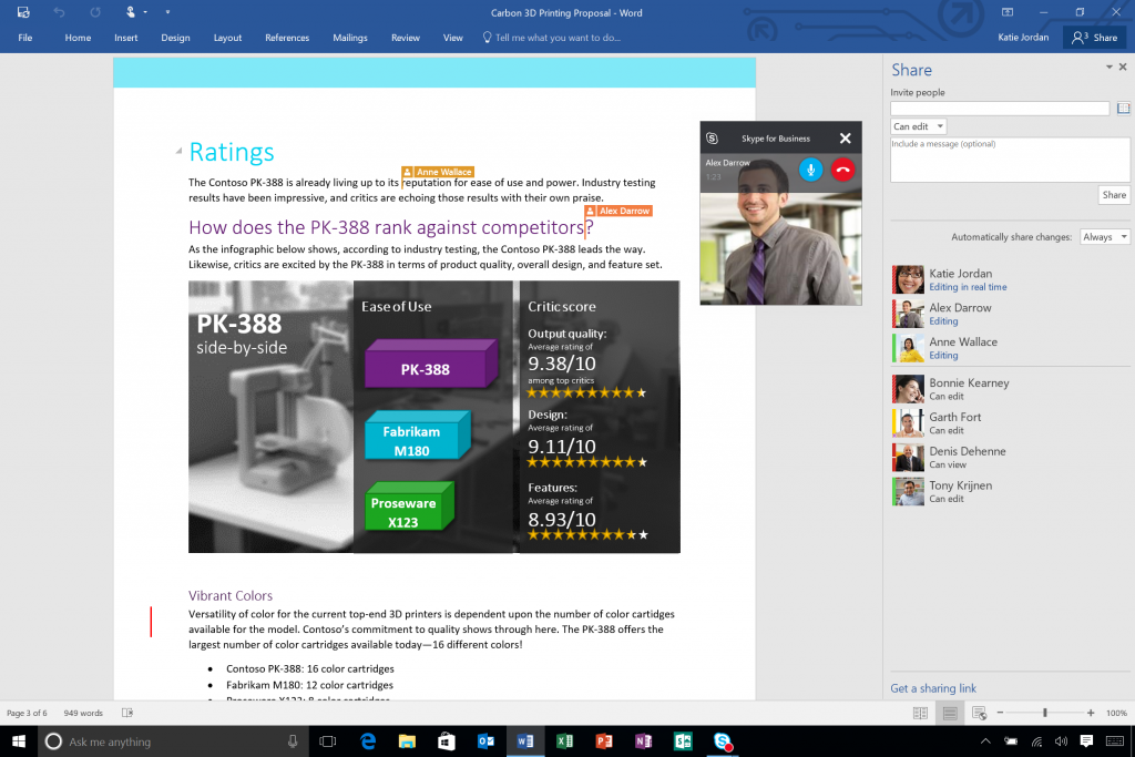 Office 2016 is here, bringing productivity kicking and screaming into the future