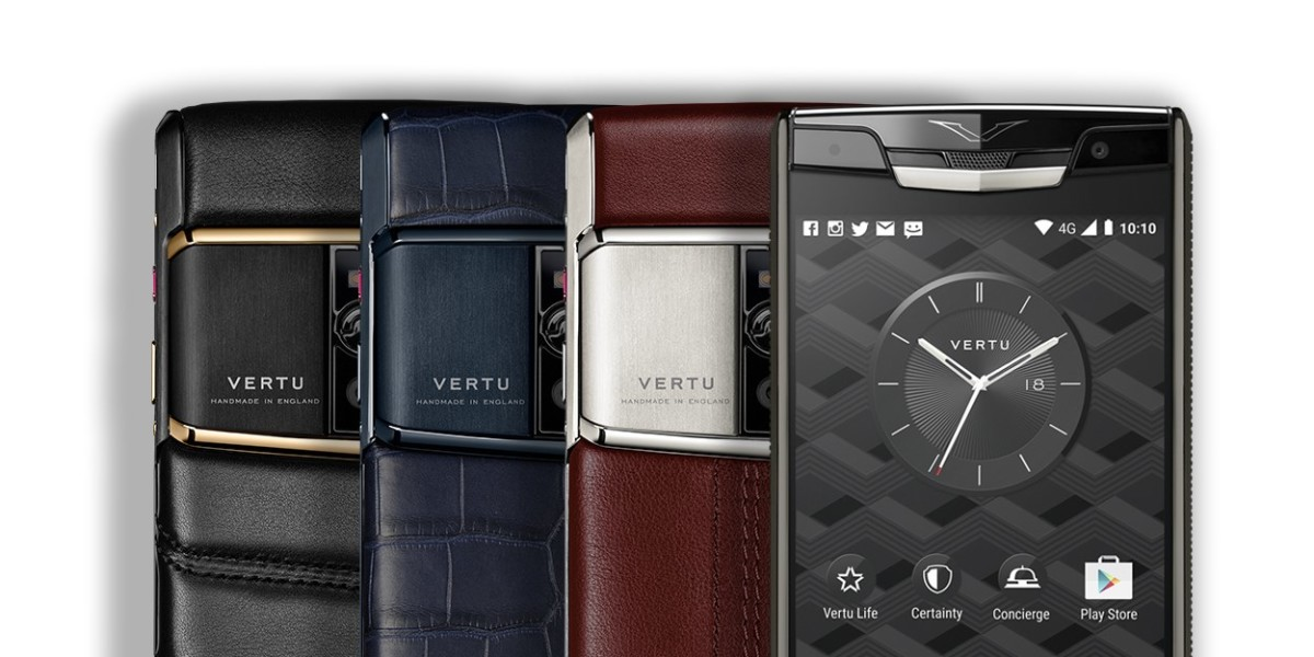 Collapsed luxury phone manufacturer Vertu is auctioning its $20,000 phones for 'cheap'
