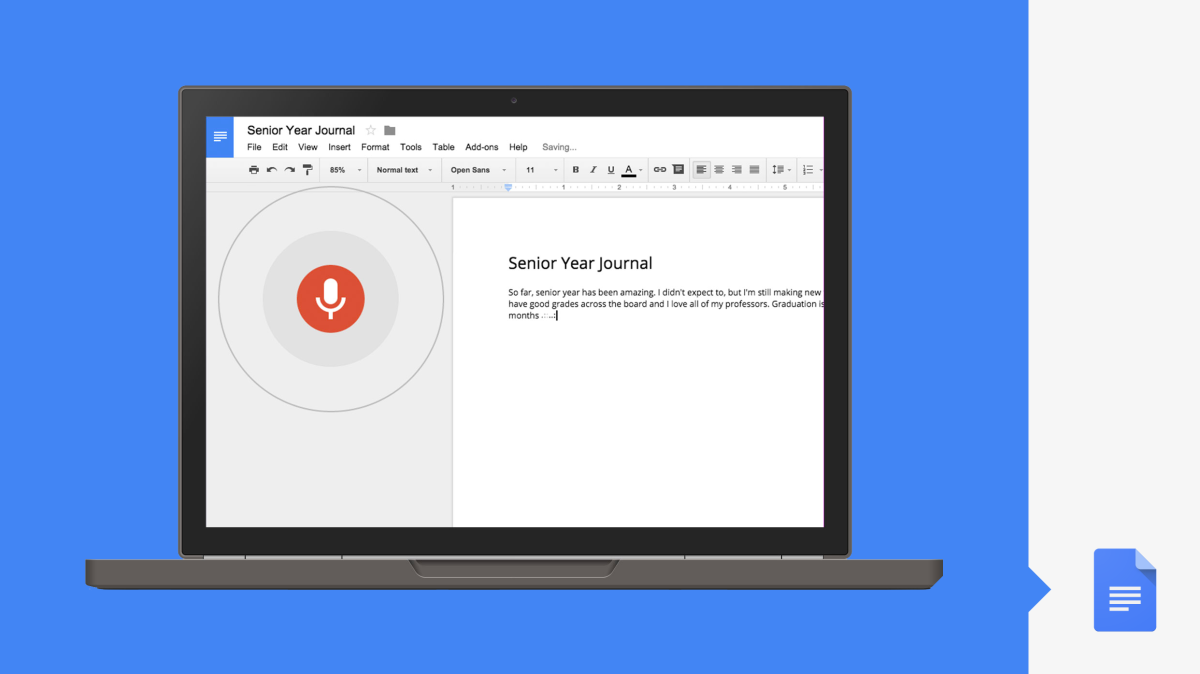 Google revamps Docs with voice typing, search functionality and data analysis