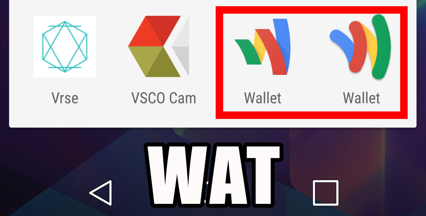 Google just launched Android Pay, so why do I have two Wallet apps?