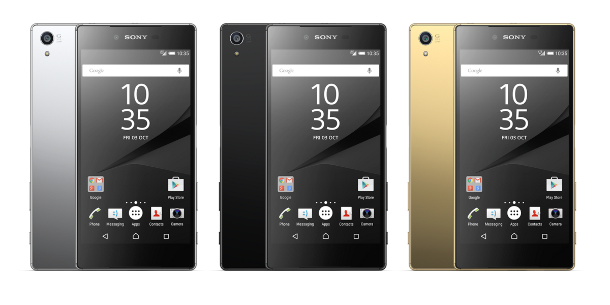 Sony launches Xperia Z5, Compact and 4K display-equipped Premium waterproof smartphones