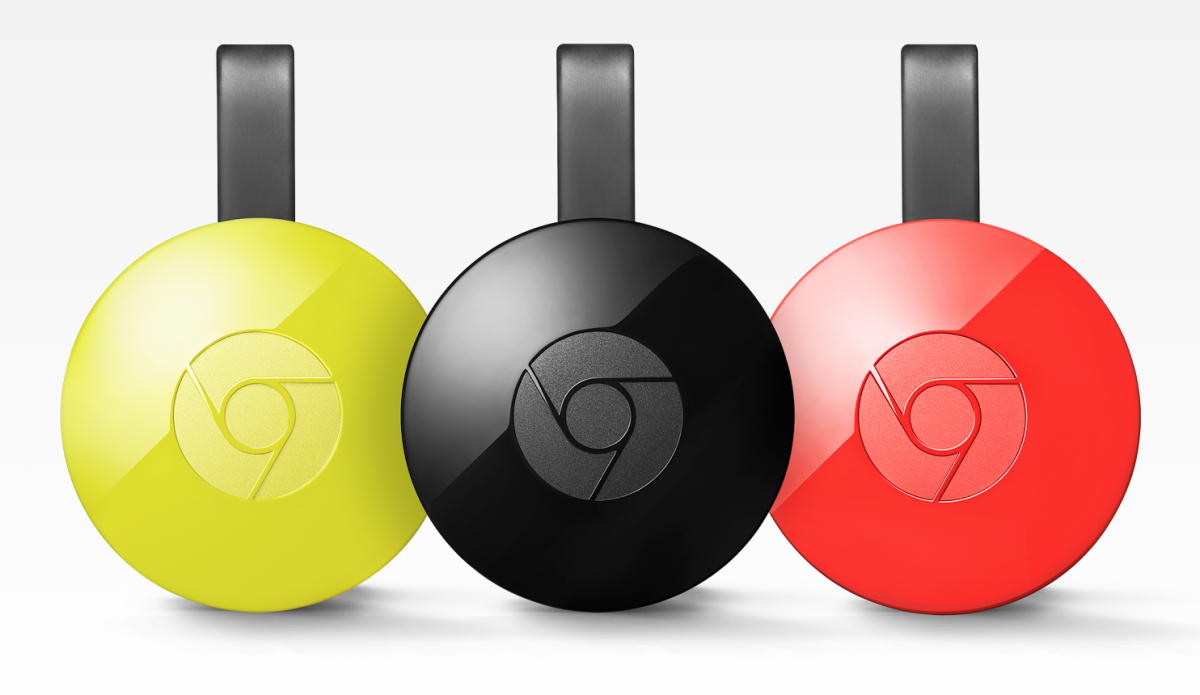 Google launches second-generation Chromecast with completely redesigned hardware