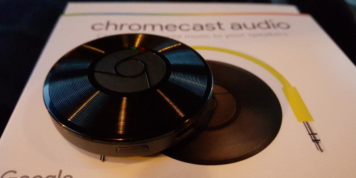 Hands-on with Google's new Chromecast Audio $35 streaming dongle