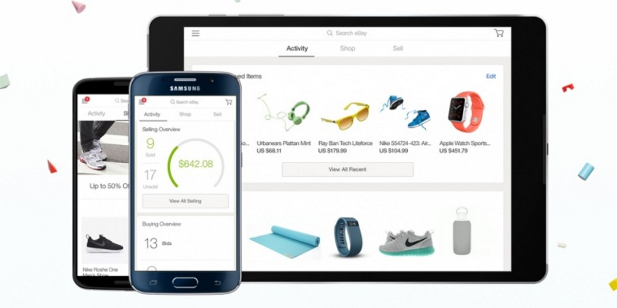 eBay overhauls its iOS and Android apps with unified design and revamped seller dashboard