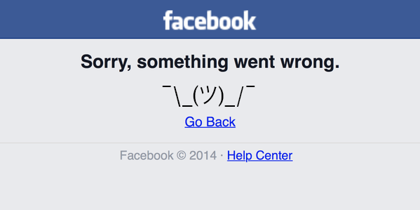 Facebook is down for the third time in less than two weeks [Update: It's back!]