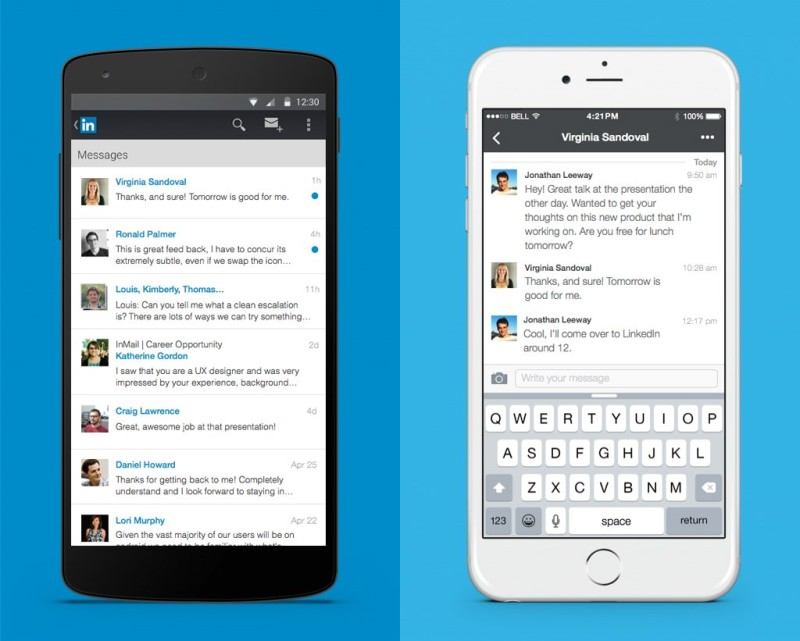 LinkedIn is improving messaging on mobile and Web