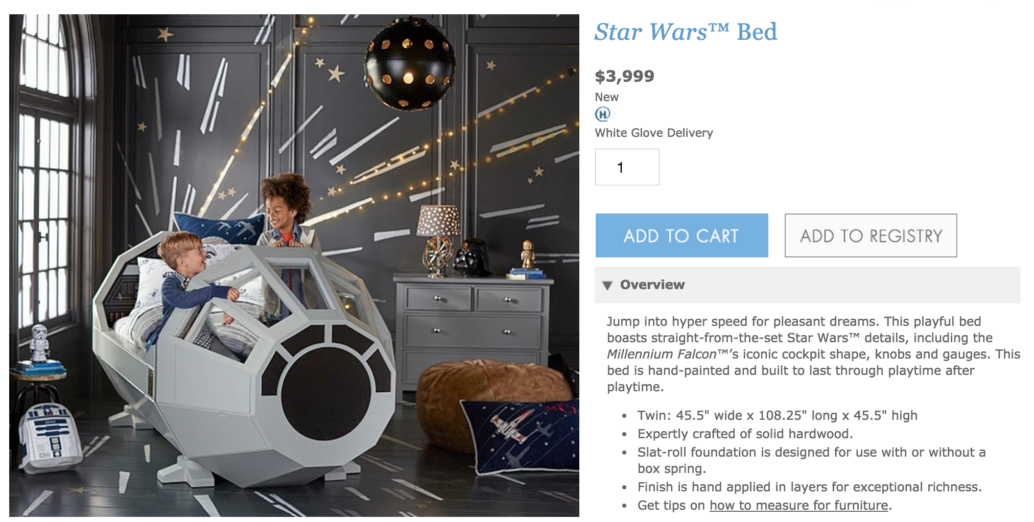 Pottery Barn Just Ruined Force Friday With This 4k Millennium