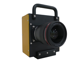 A camera prototype equipped with the Canon's new sensor