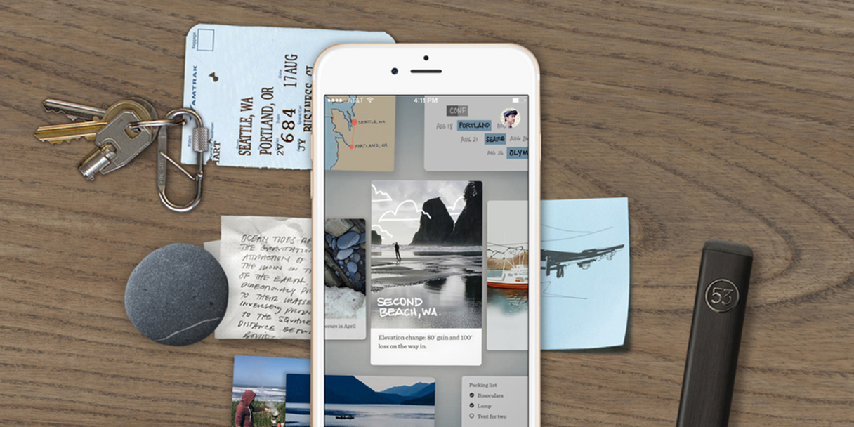 FiftyThree's new Paper for iPhone casts a fresh eye toward photos and gestures