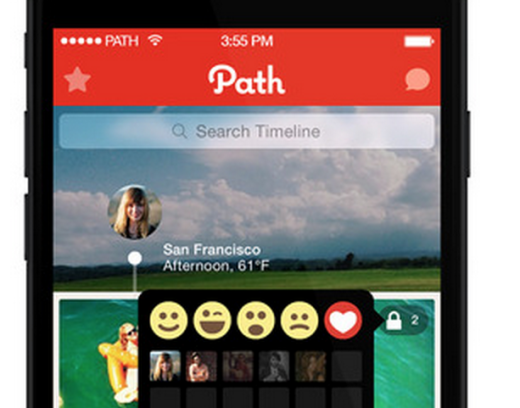 path emotions button