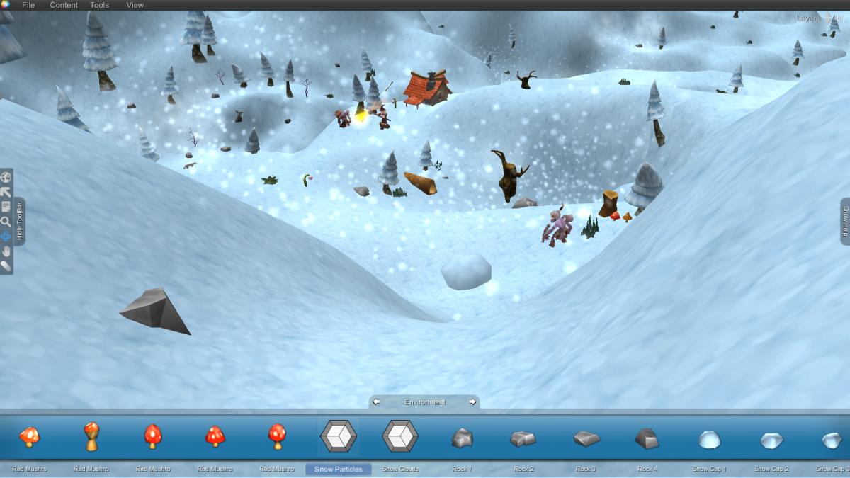 snowvillage2