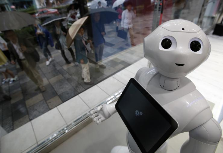 softbank-pepper robot
