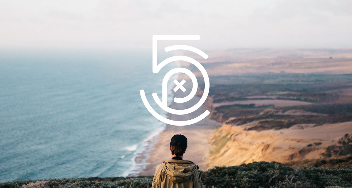 The new 500px logo is tripping balls