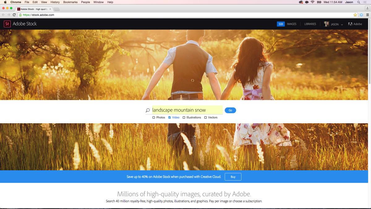Adobe Stock + Video