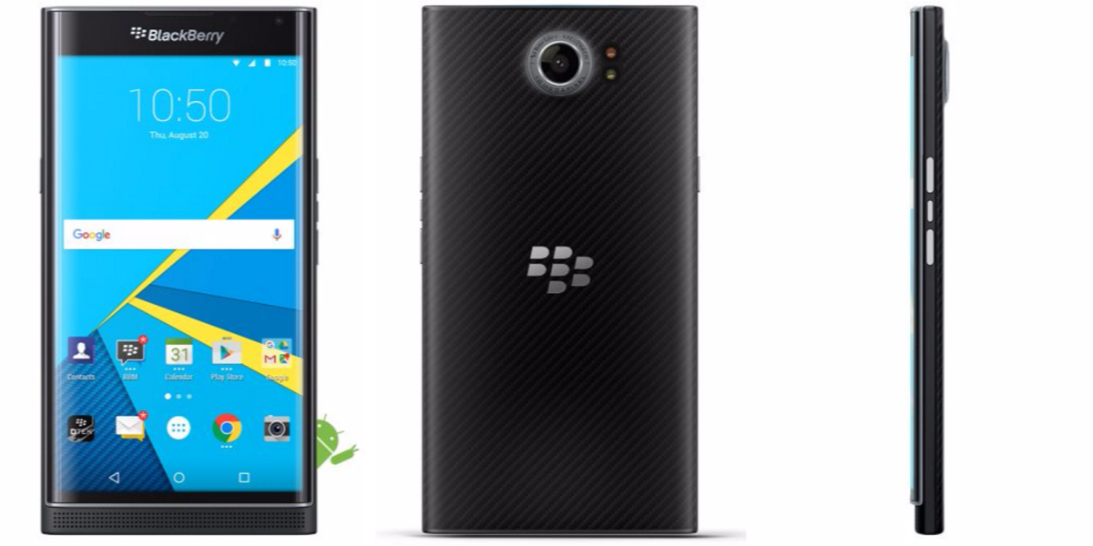 BlackBerry fans in the UK can now pre-order its Priv Android handset, shipping next month