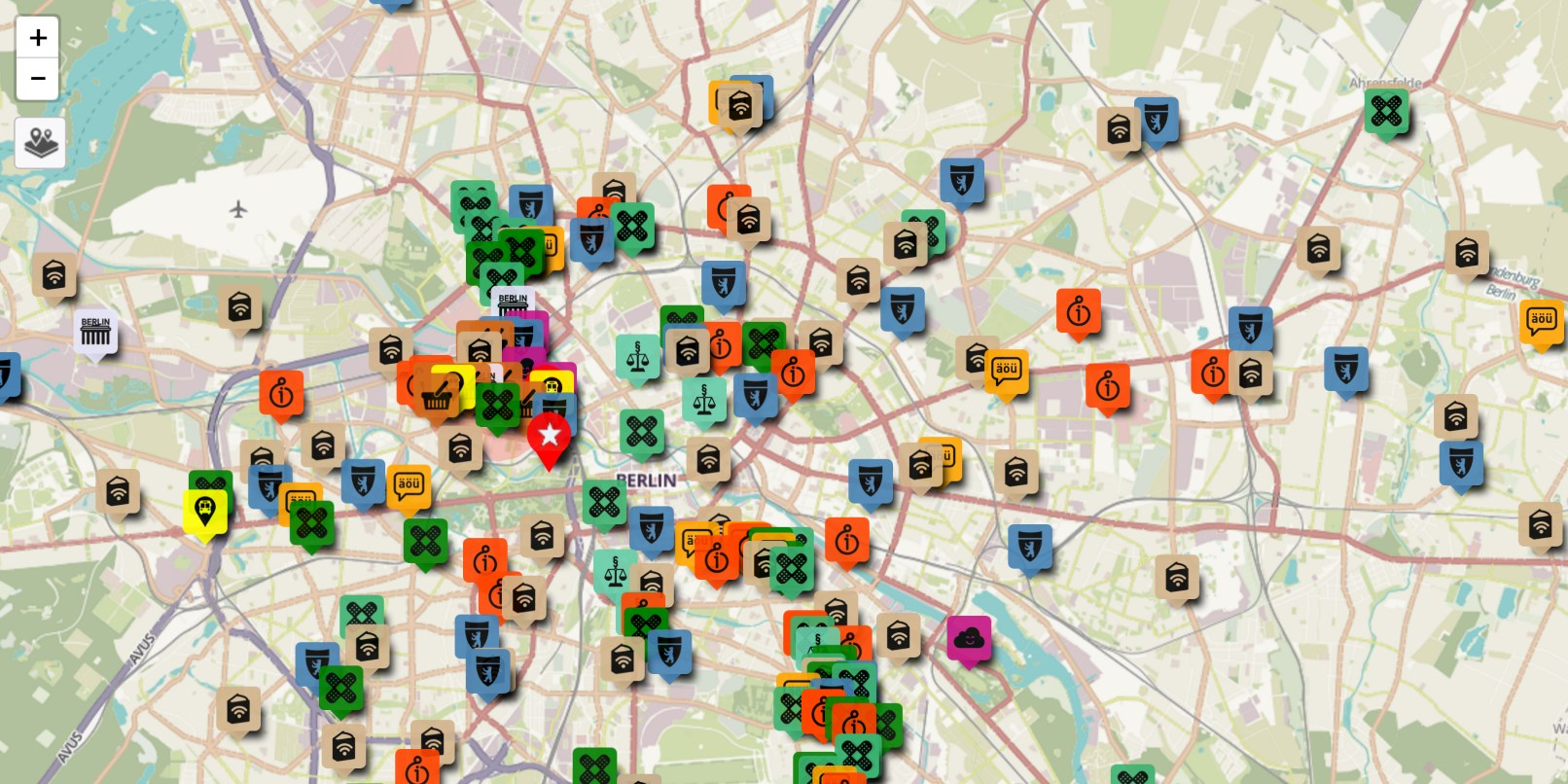 Berlin-based refugees create map of resources for newcomers