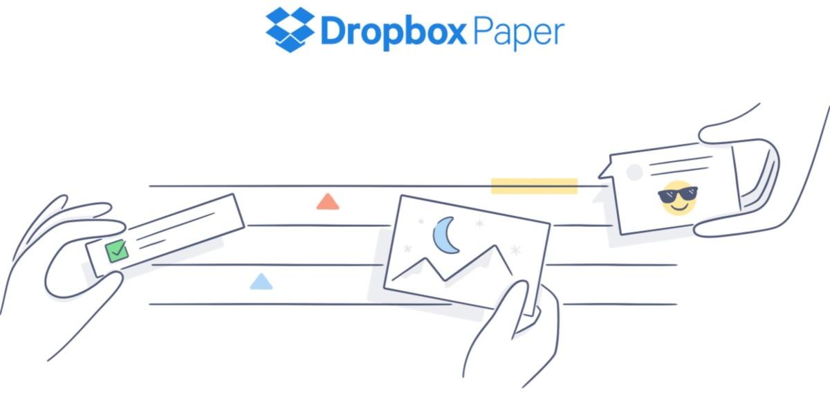 Dropbox Paper New Logo