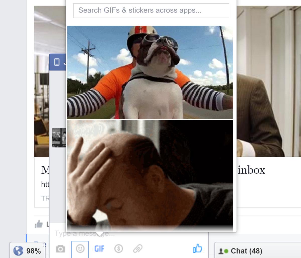 Facebook messenger new chat UI 2