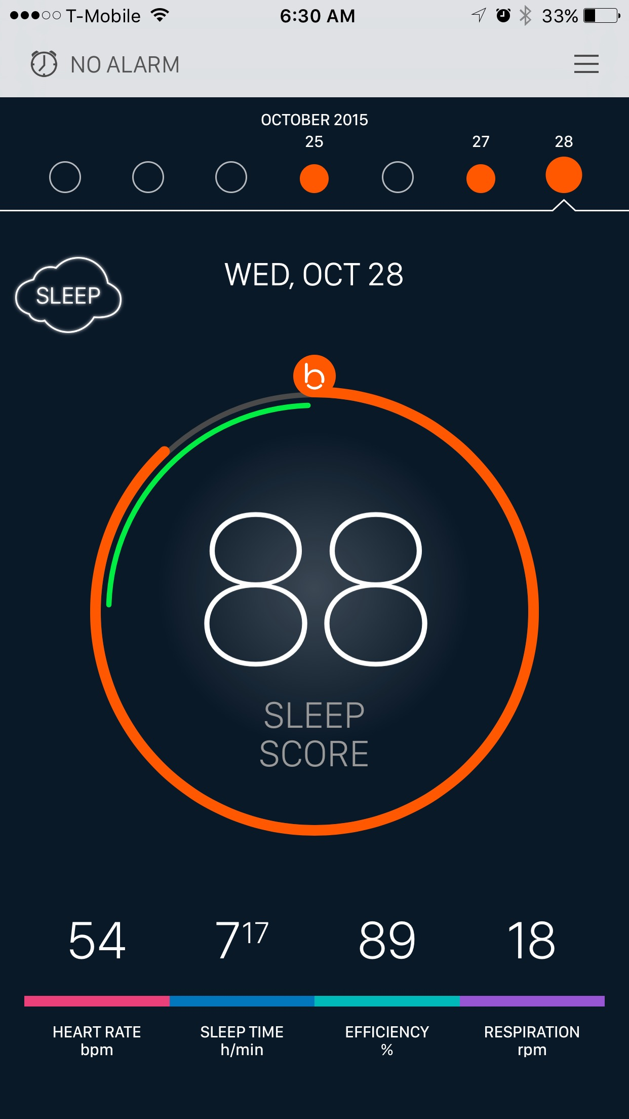 Review: the Beddit Smart sleep monitor says I need a nap