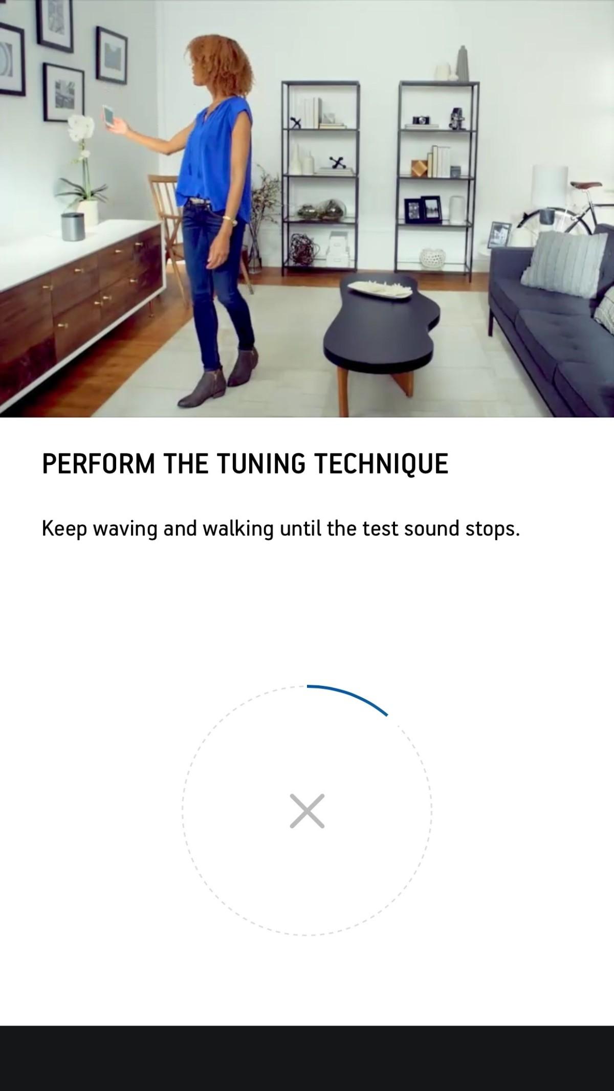 Sonos tuning process
