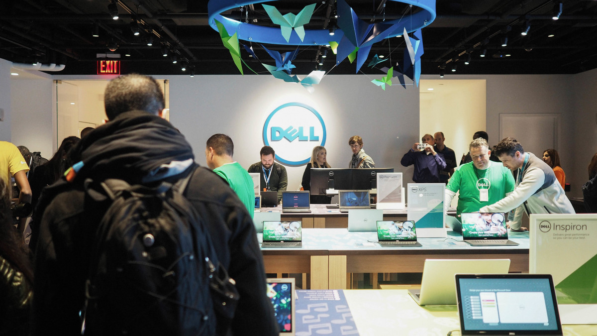 Dell gets its own floor