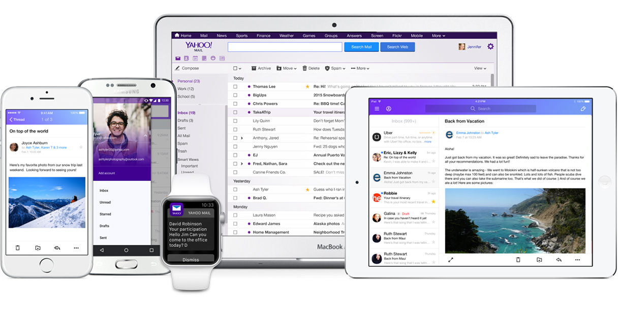 Yahoo Mail gets a new look... and no need to use a password