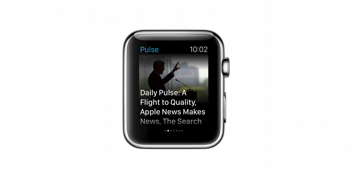 LinkedIn brings Pulse to the Apple Watch