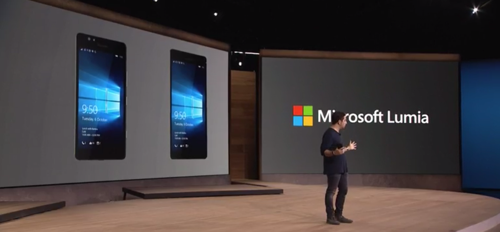 Microsoft unveils the 5.2″ Lumia 950 and 5.7″ 950 XL with 20MP camera and USB-C